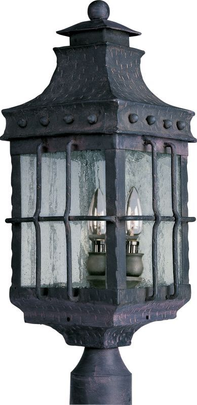 Maxim 30080 nantucket 3 light outdoor post light country forge maxim 30080 nantucket 3 light outdoor post light country forge outdoor lighting post lights post lights mozeypictures