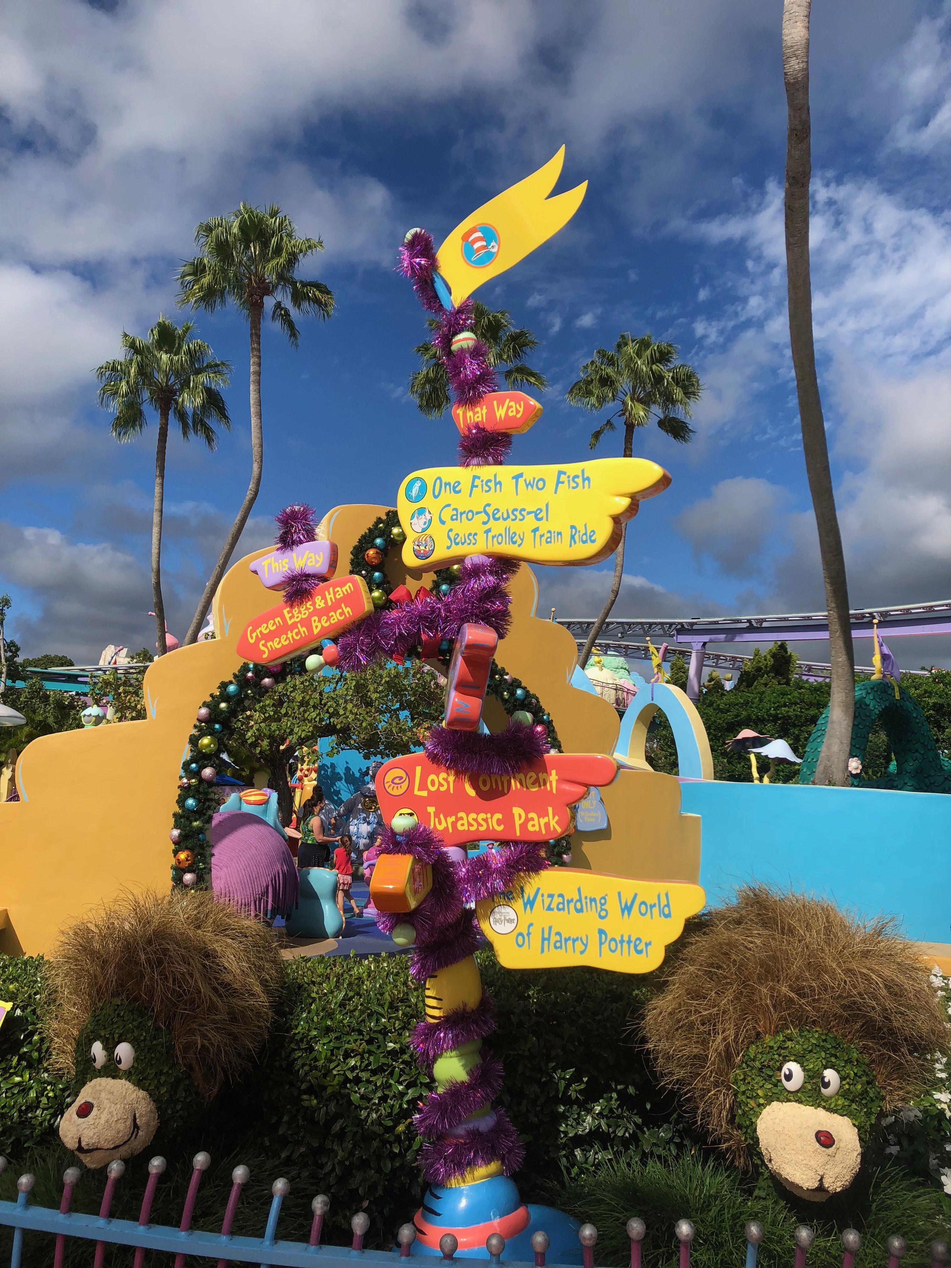 Islands Of Adventure Seuss Landing Islands Of Adventure Happily Ever After Universal Orlando