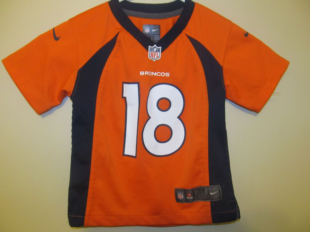 Peyton Manning - Denver Broncos Jersey - Nike Toddler 3T  Nike   DenverBroncos 7b236354b