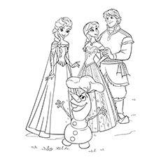 50 Beautiful Frozen Coloring Pages For Your Little Princess Elsa Coloring Pages Disney Princess Coloring Pages Disney Coloring Pages