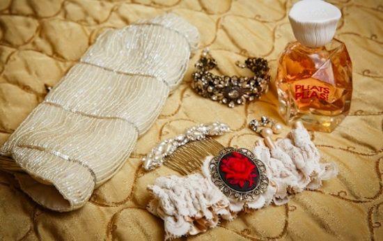 Carisa Harris' Spanish Inspired Wedding Garter