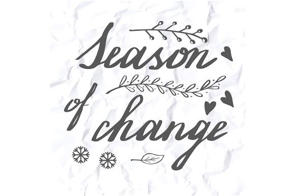 Best 5 Autumn hand lettering designs CreativeWork247 - Fonts - calligraphy designs templates