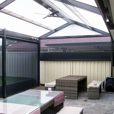 Dmv Steel Pergolas Sunscreen Weather Blinds Northern Home Improvement Outdoor Solutions Roof Design Carport Patio