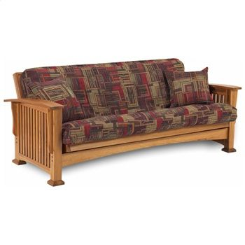 Rainer Complete Oak Futon Set With
