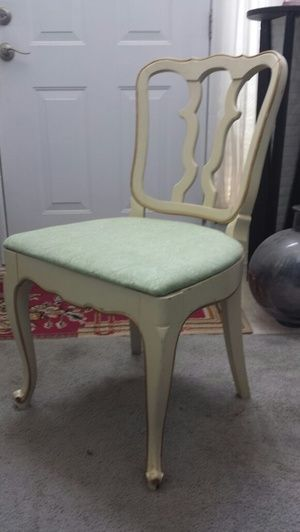 French Country Vintage Vanity Chair For Sale In Stone Mountain Ga Vanity Chair Vintage Vanity Chairs For Sale