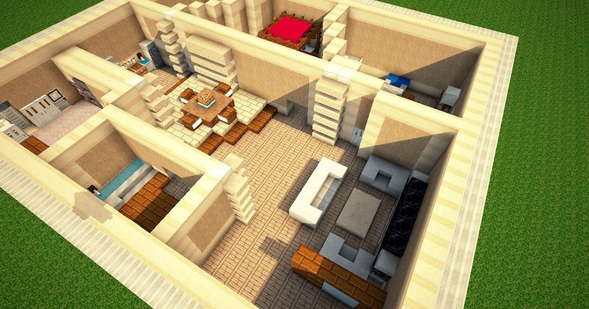 How To Make A Modern Interior Minecraft Blog Modern House 2019 44 Nice 3 Bedroom Modern House P In 2020 Minecraft Modern Minecraft House Plans Minecraft House Designs