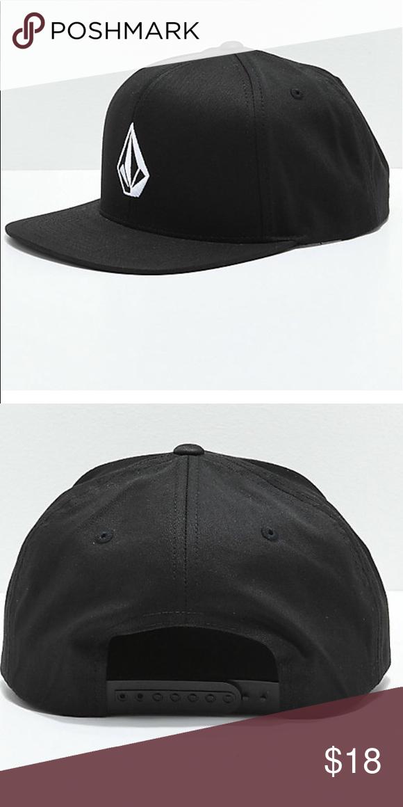 Volcom Men's Snapback Baseball Hat V Stone Logo Adjustable Hat NWT