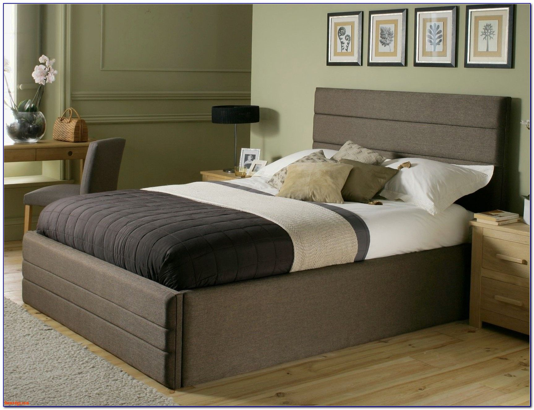 fine Lovely Bed Frame without Headboard , cheap king king