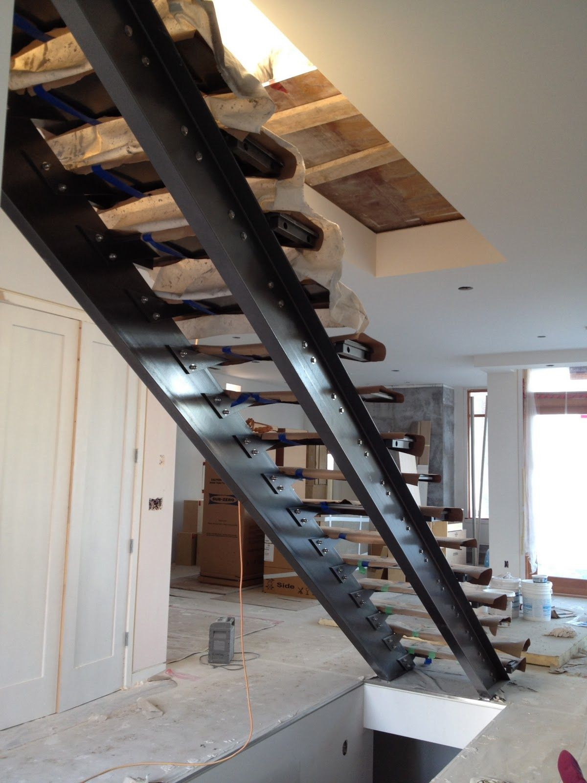 Ronse Massey Developments Blog: Steel Stair Stringers