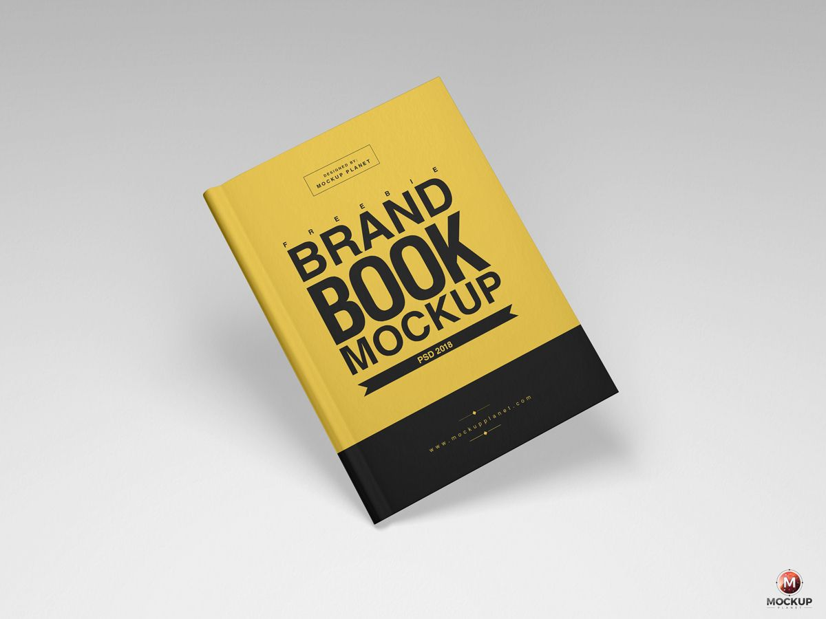 Free Brand Book Cover Mockup Psd 2018 600 Book Cover Mockup Brand Book Book Cover