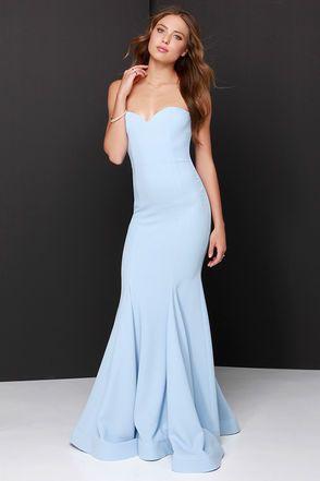 Baby Blue Maxi Dress | But Dress