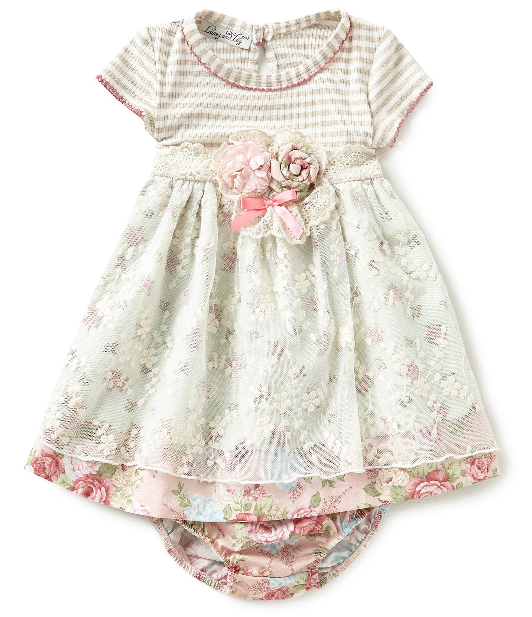 Shop for Lainey & Lily Baby Girls 12 24 Months Floral A Line Dress