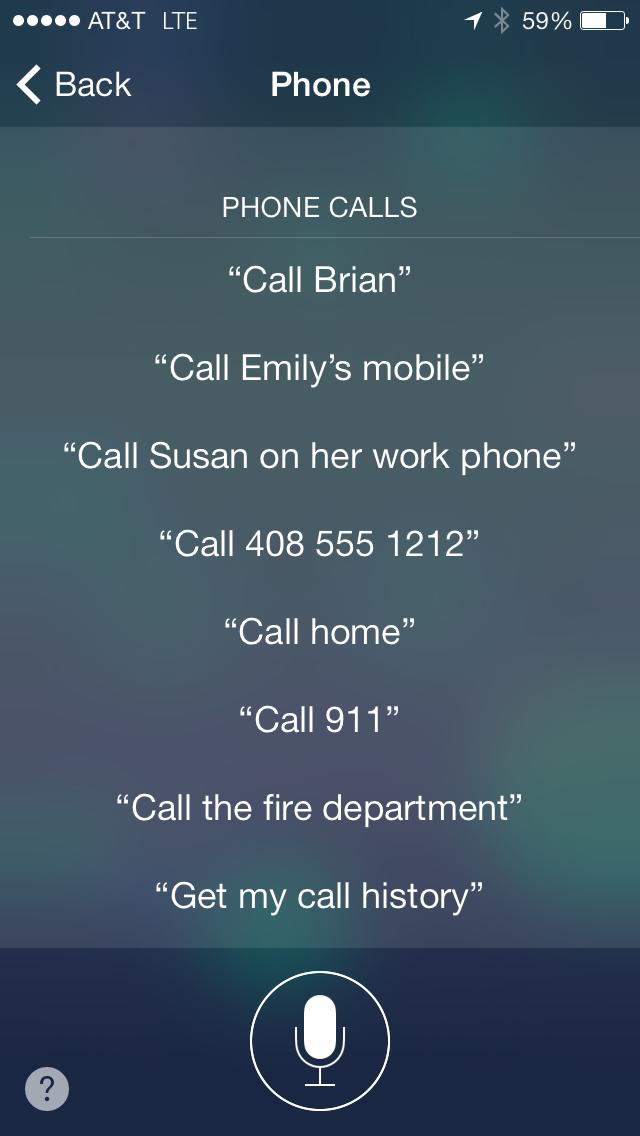 Siri On Ios 7 Things To Ask Siri Helpful Hints Siri