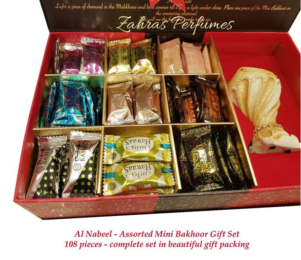 Bakhoor Gift Set 108 Pieces Complete Incense New Wrap Oud Bokhoor Al Nabeel Seal Gift Set Perfume Packaging Gifts