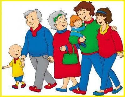 Maravillosas Imagenes De Familias En Dibujos Animados Caillou Childhood Tv Shows Happy Grandparents Day