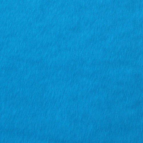 Hawaiian Blue Solid Jersey Rayon Spandex Knit Fabric A Tropical Color Is Light Weight With Nice Drape And