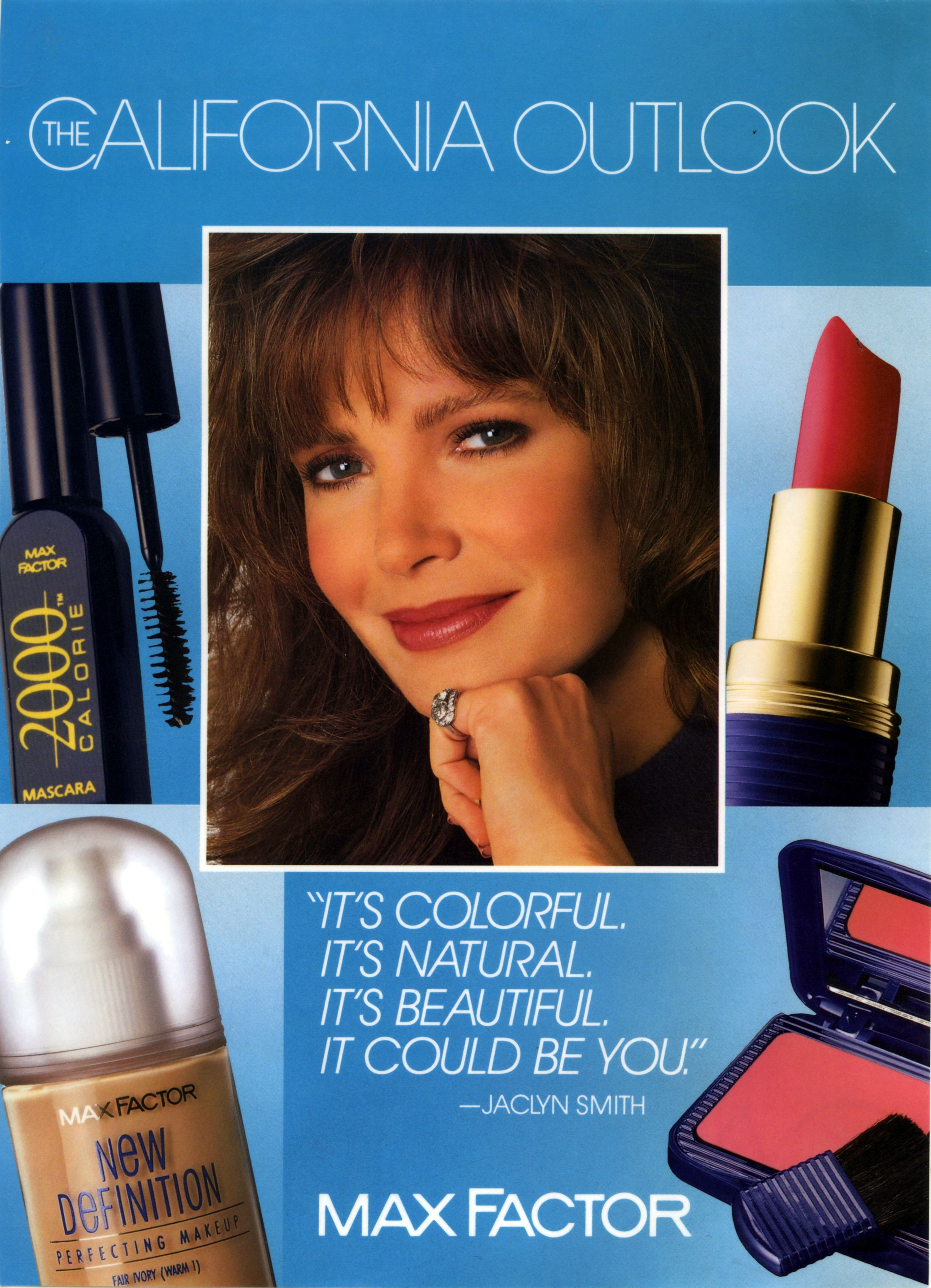 Image result for jacqueline smith max factor Jaclyn