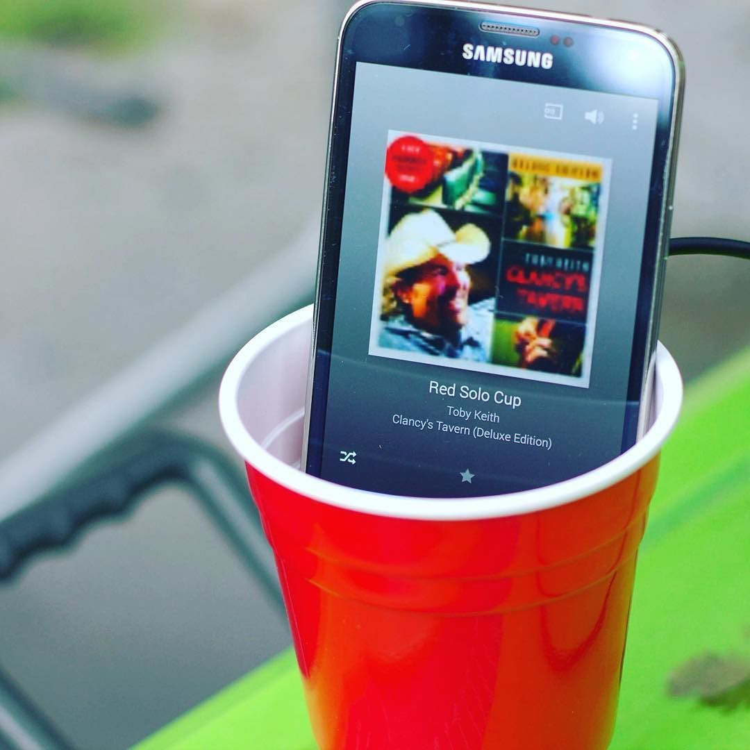 Amplifying red solo cup with a red solo cup Cheers  #tobykeith #redsolocup #countrymusic by adzyoutdoors https://www.instagram.com/p/BBZdZxvRRO9/ #jonnyexistence #music