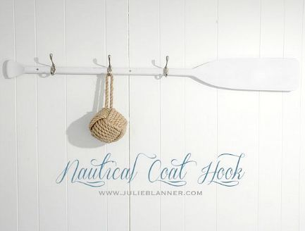Cool Diy Coastal Coat Wall Rack Ideas Nautical Decor
