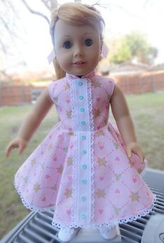 RESERVED LISTING 18 Doll Clothes 1950's Style by Designed4Dolls
