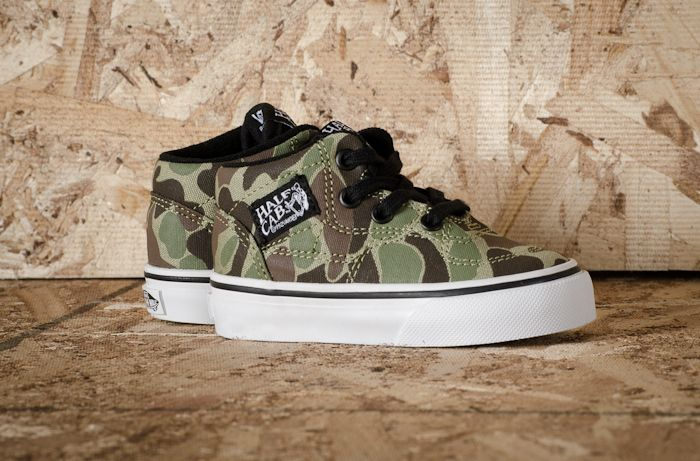 half cab vans camo backpack