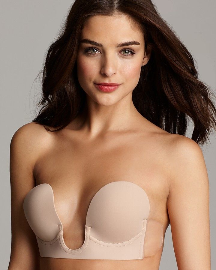 eaac89dac3 Without straps. Also perfect with our jumpsuit. Fashion Forms Strapless Bra  - Backless U Plunge