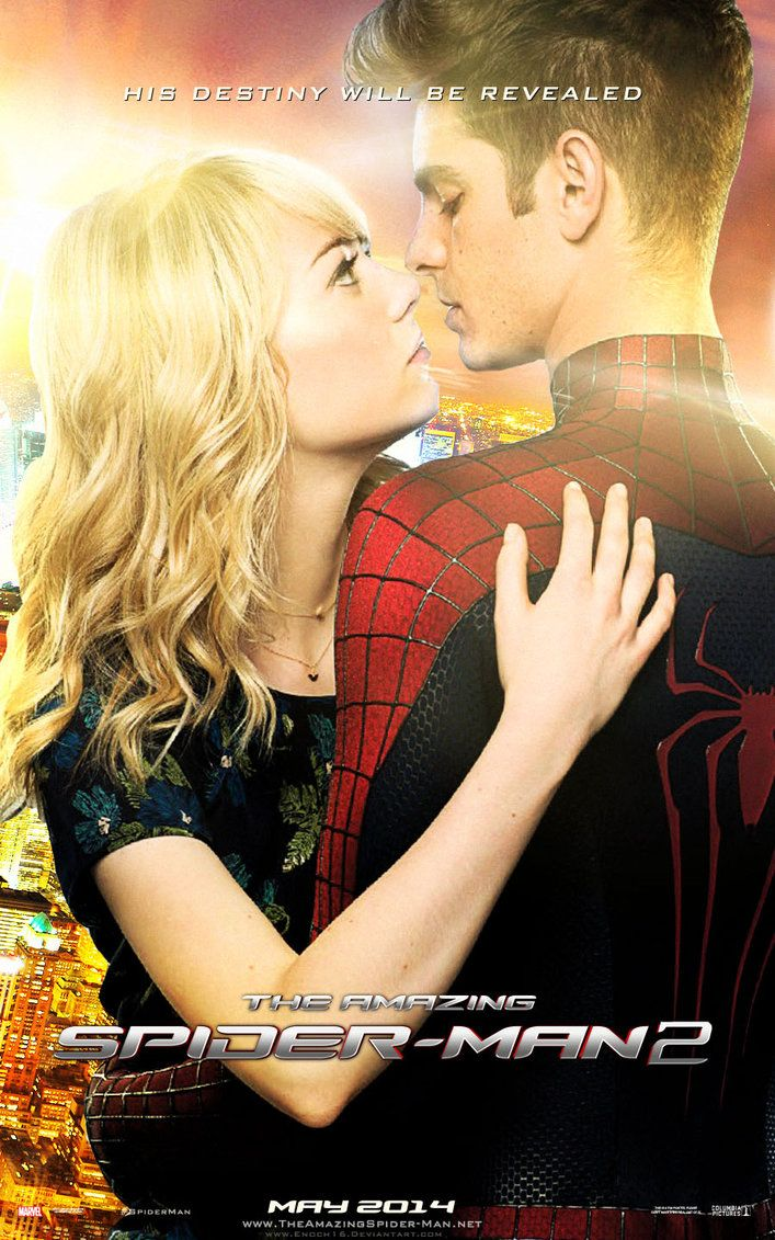 Gwen And Peter Spider Man Featured On The Amazing Spider Man 2