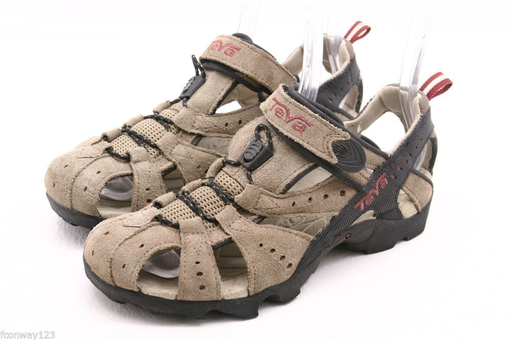 9c189da14b18 TEVA womens sandals Size 7 DOZER tan suede waterproof river water sport  shoes  Teva  SportSandals  ebay