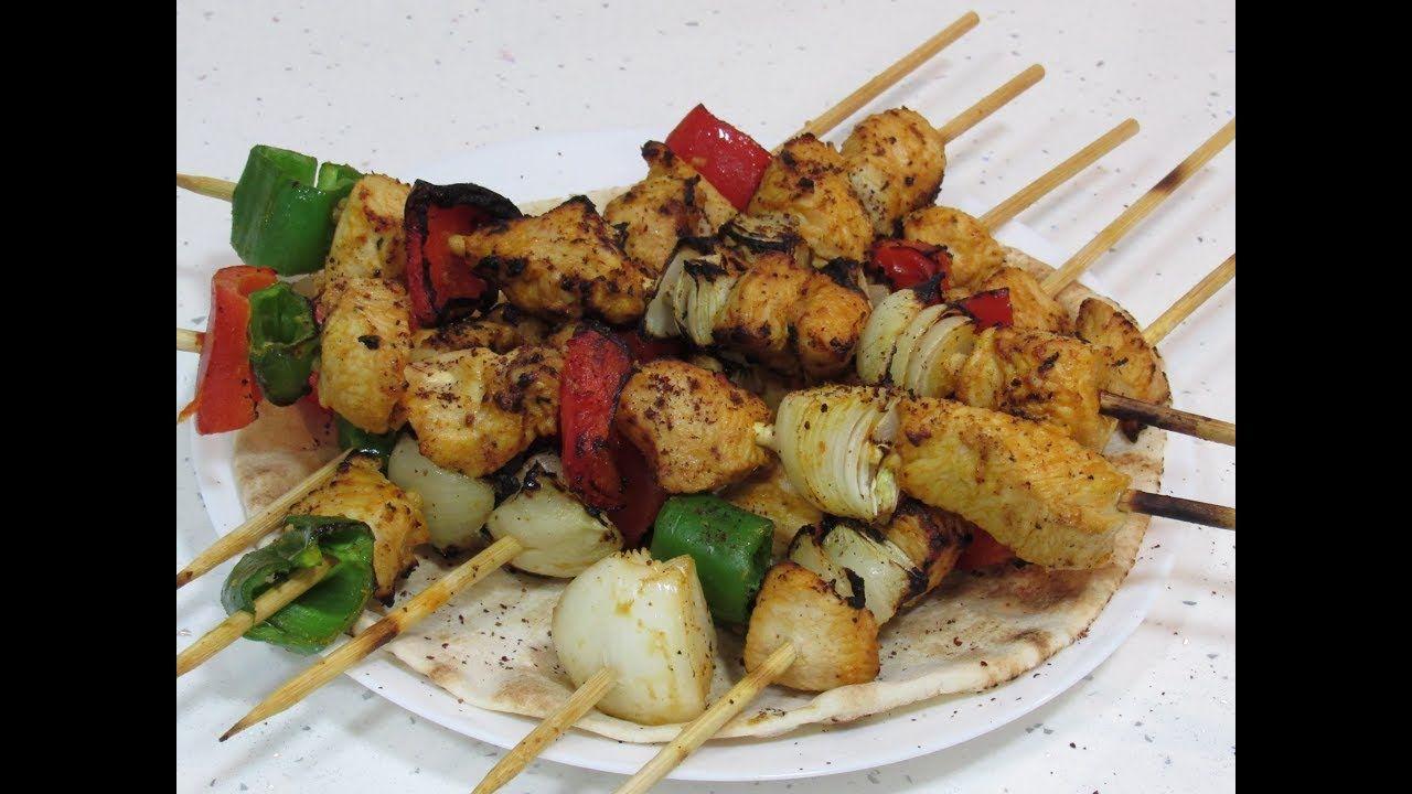 تكة دجاج على الطباخ بطريقة المطاعم بدون فرن وبدون فحم لا تقاوم Egyptian Food Cooking Food