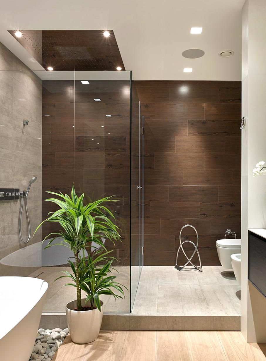 Pin By Yasmine Khan On Master Bathroom In 2020 Small Apartment Bathroom Contemporary Bathrooms Bathroom Decor Apartment