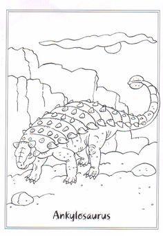 coloring page dinosaurs 2 ankylosaurus dinosaury dinosaur coloring pages cool coloring. Black Bedroom Furniture Sets. Home Design Ideas