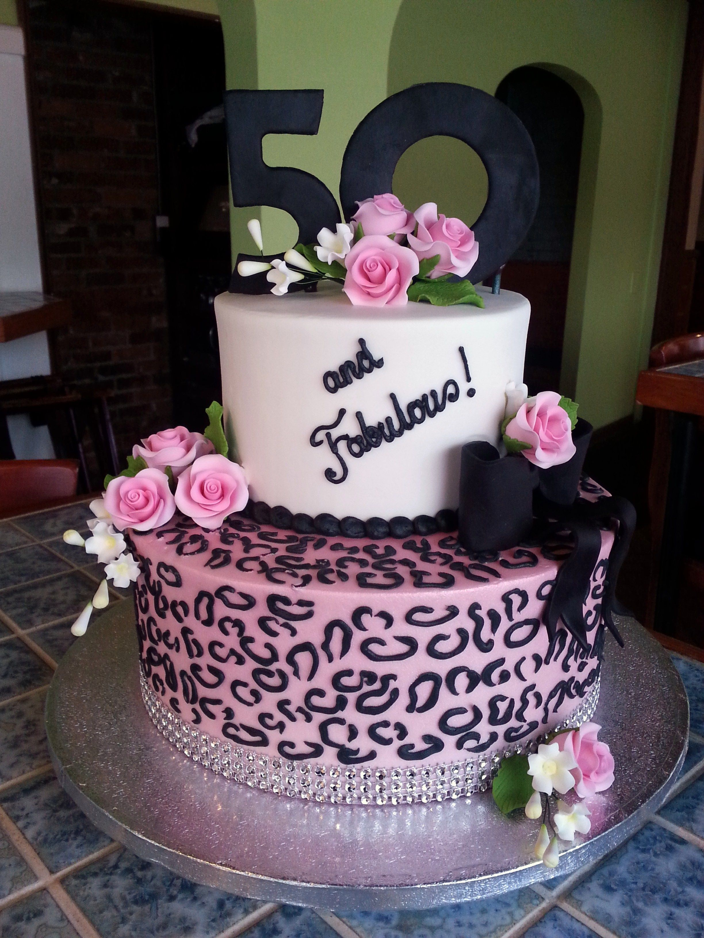 Incredible Fifty Fabulous Cake By Americandreamcakes Com Birthdays Funny Birthday Cards Online Elaedamsfinfo