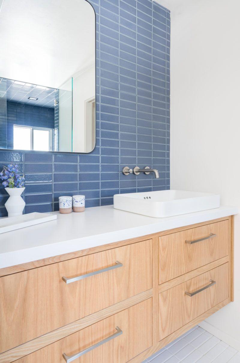 15 a. Naber Design Blue Bathroom Tiles   Fireclay   Blue bathroom ...