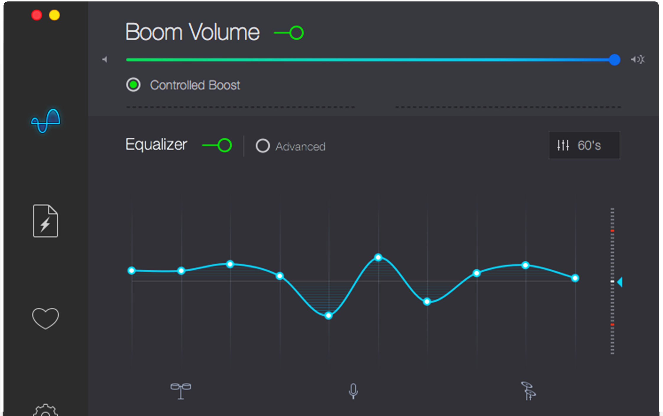 Boom 2 Mac volume booster interface (With images) The