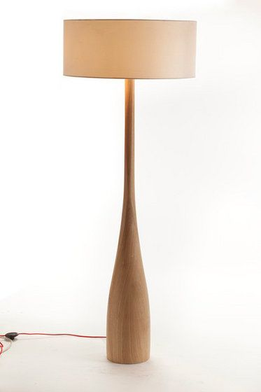 Modern Elegent Wooden Floor Lamp