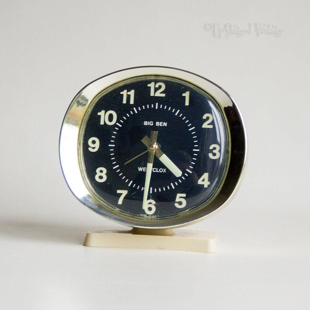 Vintage Westclox Alarm Clock 60