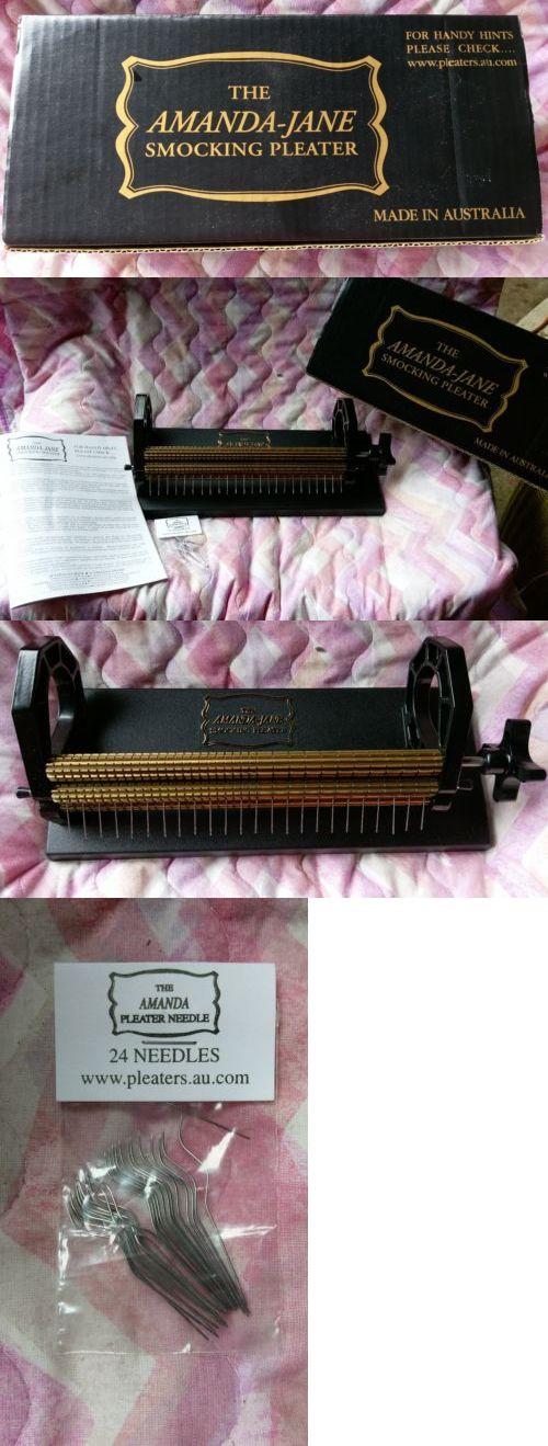 Other Sewing 3115 Amanda Jane Smocking Pleater 24 Needles Box And