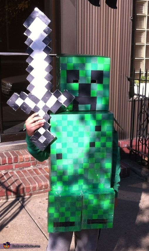 Minecraft Creeper - Halloween Costume Contest at Costume-Works - minecraft halloween costume ideas