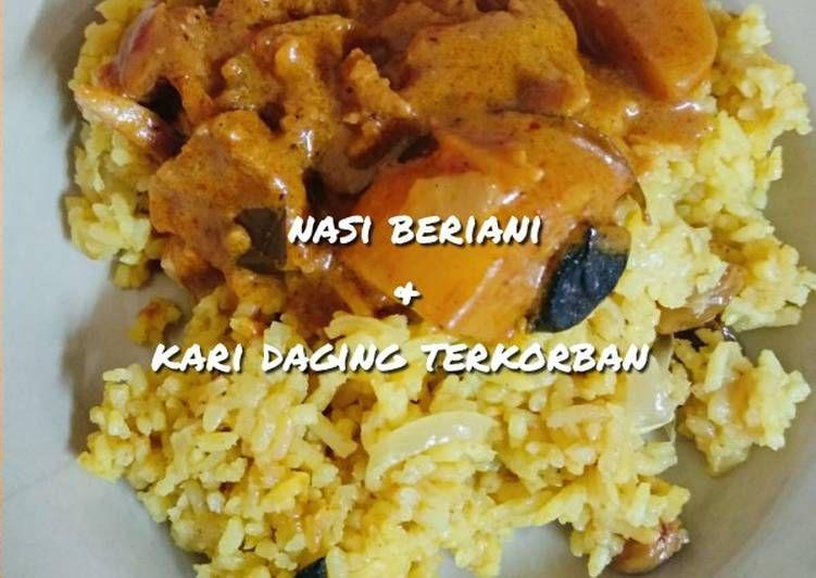 Bahan Nasi Beriani Kari Daging Terkorban Yang Enak Aneka Resepi Enak Resep Kari Daging Nasi