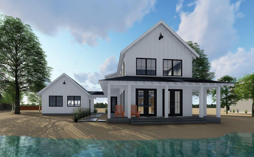 image result for modern farmhouse prefab in 2019