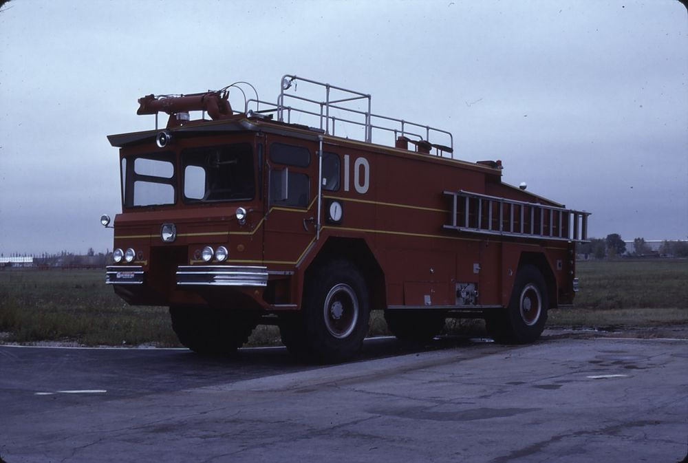 Chicago FD O'hare old C 10 YW