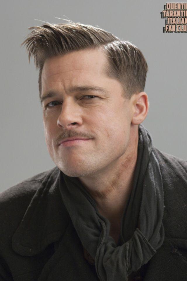 Brad Pitt Inglorious Bastards Movies Pinterest Frisur Und