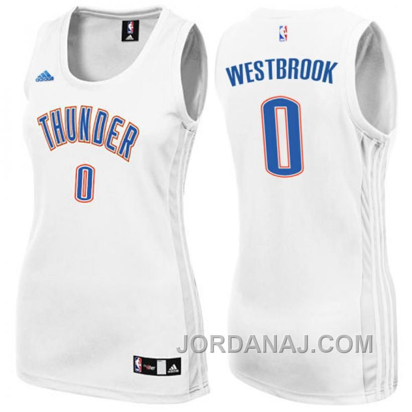 34e68ab15 Honor your favorite NBA superstar in this Women s Adidas Oklahoma City  Thunder  0 Russell Westbrook