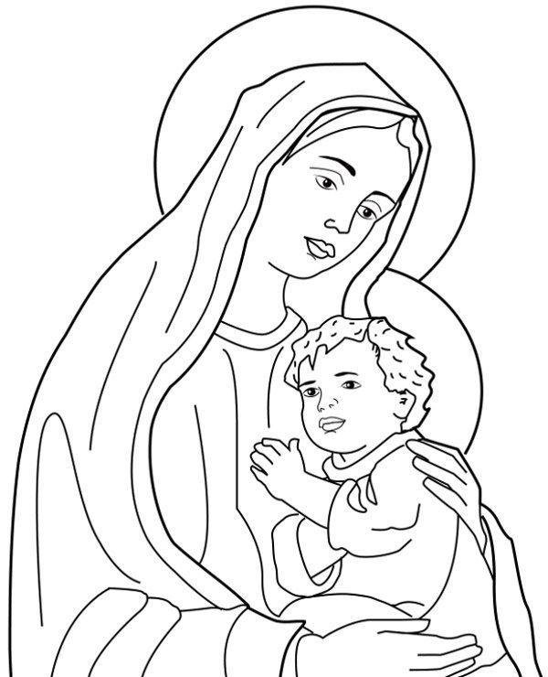 Pin von Beatusia auf Kolorowanka chrześcijańska | Pinterest