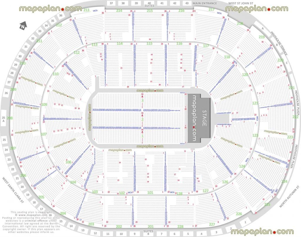 Stylish Kfc Yum Center Seating Chart With Row Letters Di 2020 Beri Aplikasi