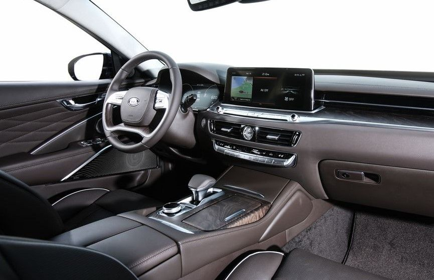 2019 Kia K900 Interior Kia, First drive, Car review