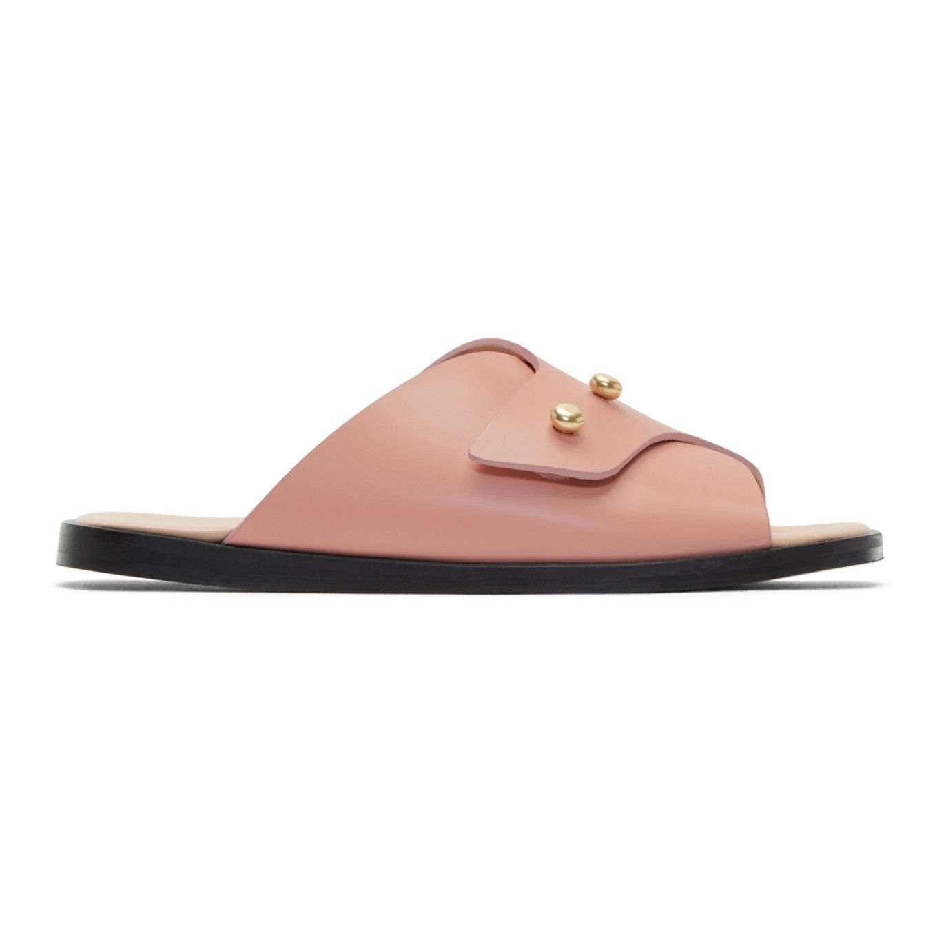 Acne Studios Pink Jilly Sandals