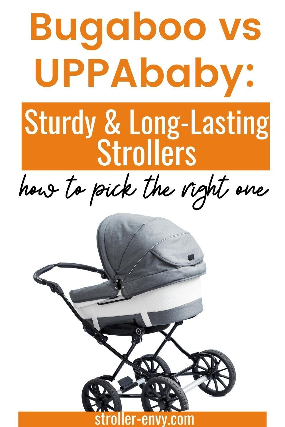Bugaboo vs UPPAbaby Sturdy and LongLasting Strollers in