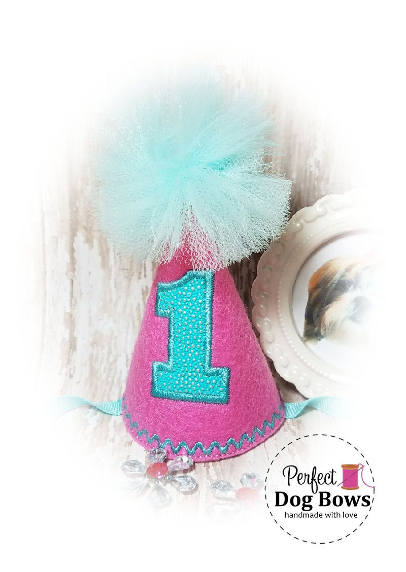 Dogs 1st Birthday Hat OMG The Cuteness Of This For My Dog