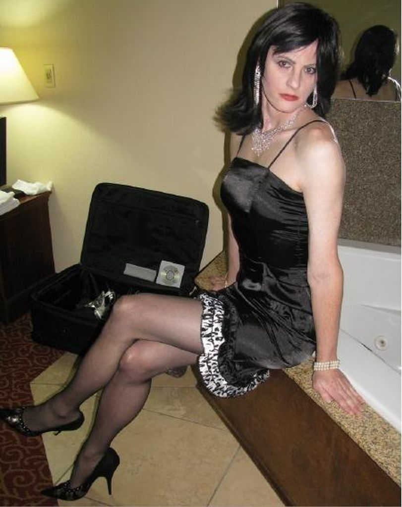 Cutecrossdresserstac Man To Woman, Fashion Cd, Sissy Boy, Transvestite, Sissy Boy, Man In Pantyhose, Sissy Boy, Drag  Some Beautiful Women